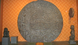 Aztec disc by Matthew Bisanz.fw